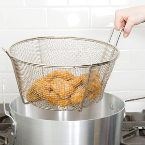 Stainless Steel Medium Size Frying Basket