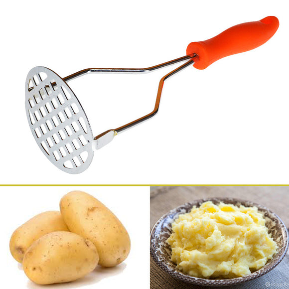Metal 10 inches Vegetables & Potatoes Masher