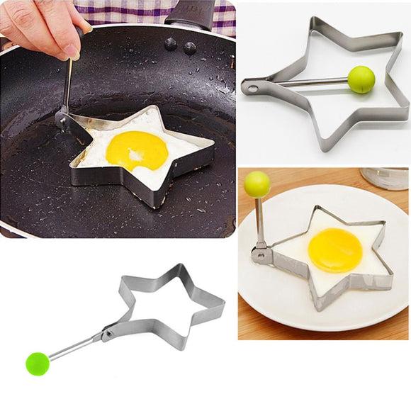 Stainless Steel Star Shape Egg Making Mould