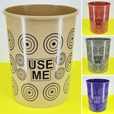 USE-ME Medium Size Regular Daily Use Plastic Dust / Waste Bin
