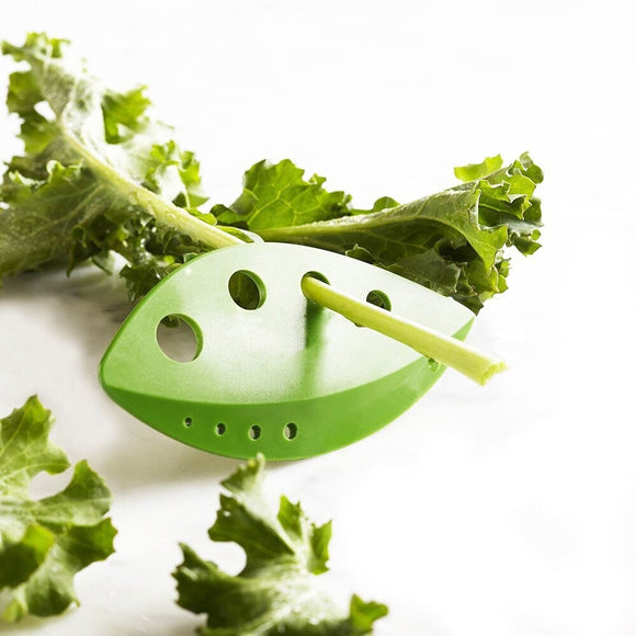 Plasitc Leaf Greens & Herb Stripper Kitchen Tool Gadget
