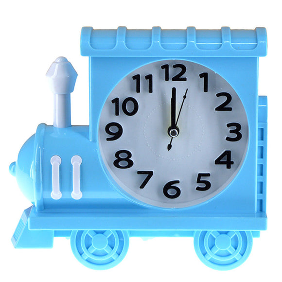 Train Shape Alarm & Table Clock (7.2 X 6.6) inches