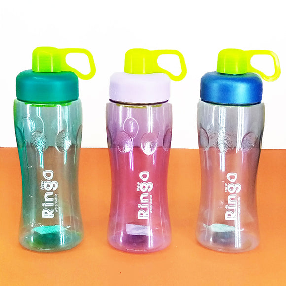 Safari Ringo 600ml Transparent Plastic Water Bottle