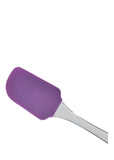Silicon 11 inches Spatula With Plastic Handle For Mixing