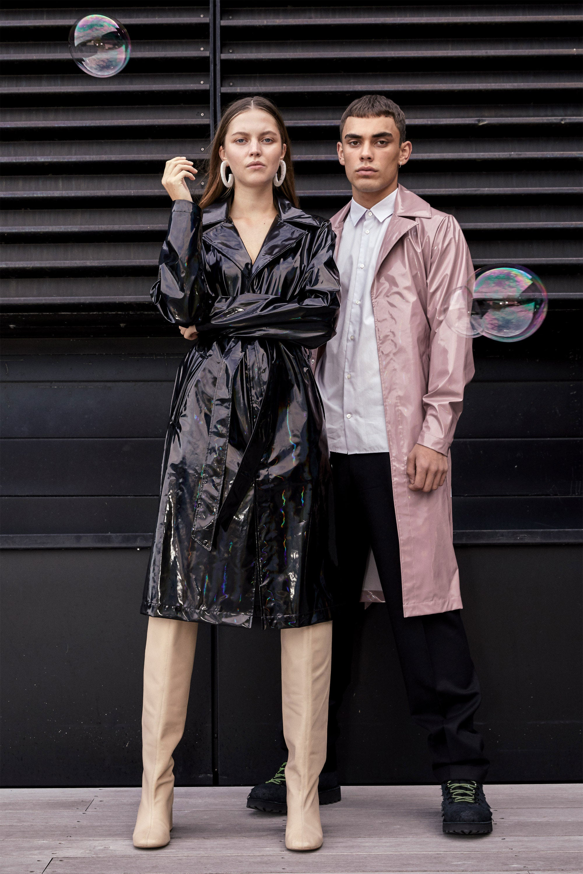 Rains SS19 Holographic Campaign Imagery