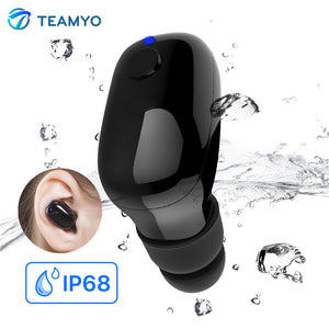 Waterproof IP68 Sports earphones running Earbuds Handsfree call