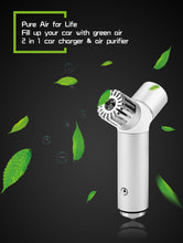 2 in 1 Car Charger and Air Purifier