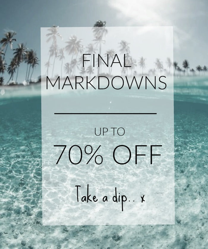 SALE UP TO 70% OFF...Take a dip x