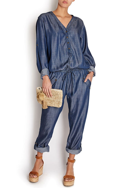 Caro Jumpsuit Dark Denim