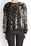 Shimmer Sequin Sweat Top