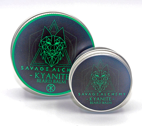 Kyanite Beard Balm - Grapefruit, May Chang & Lemongrass