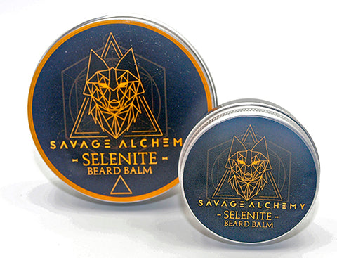 Selenite Beard Balm - Sweet & Spiced Orange