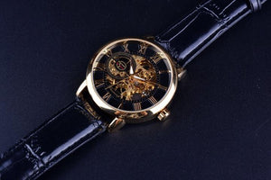 Luxury Mechanical Skeleton Watch - Steam Pumped