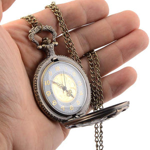 Steampunk Hollow Rib Cage Pocket Watch - Steam Pumped