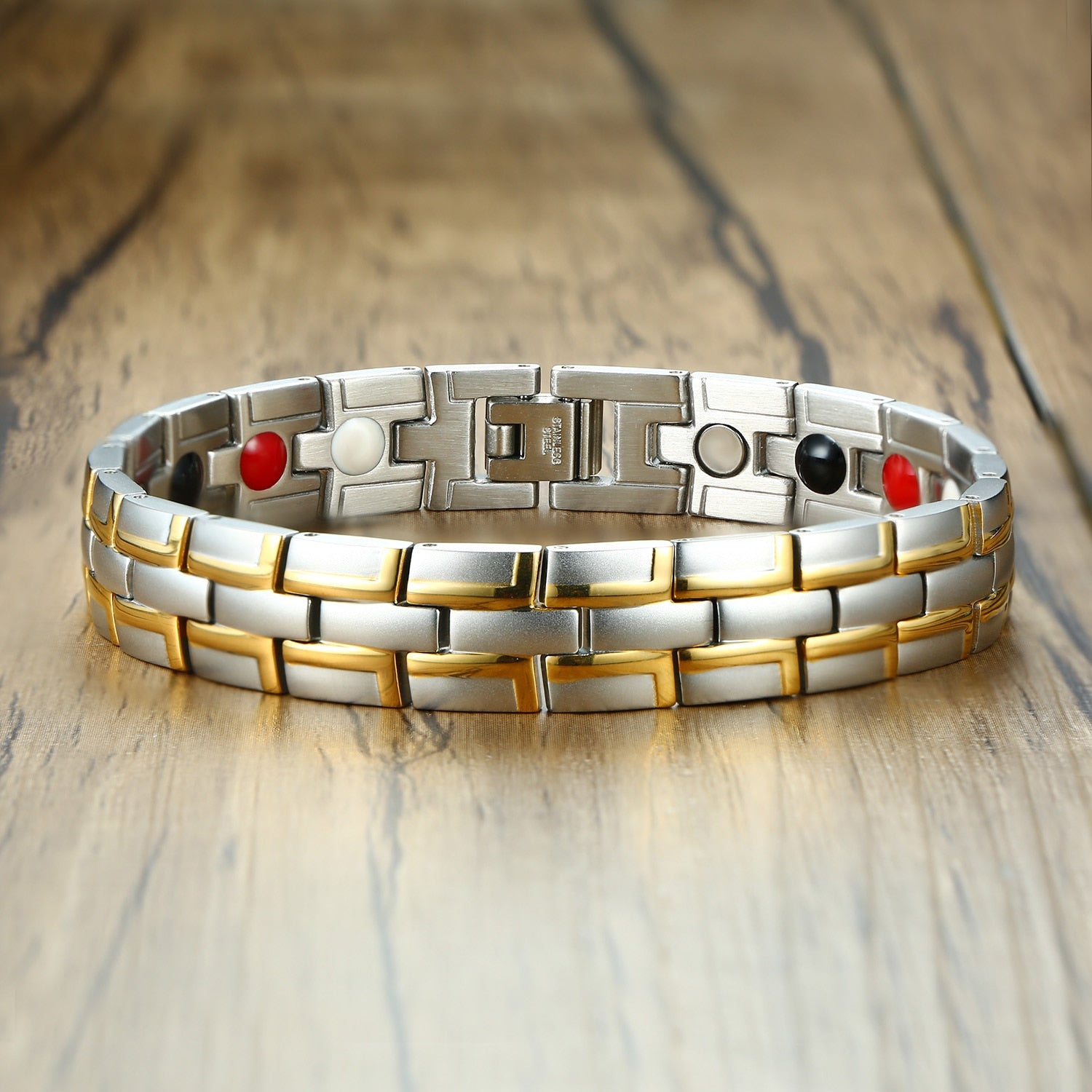 Health Magnetic Bracelet Male Stainless Steel