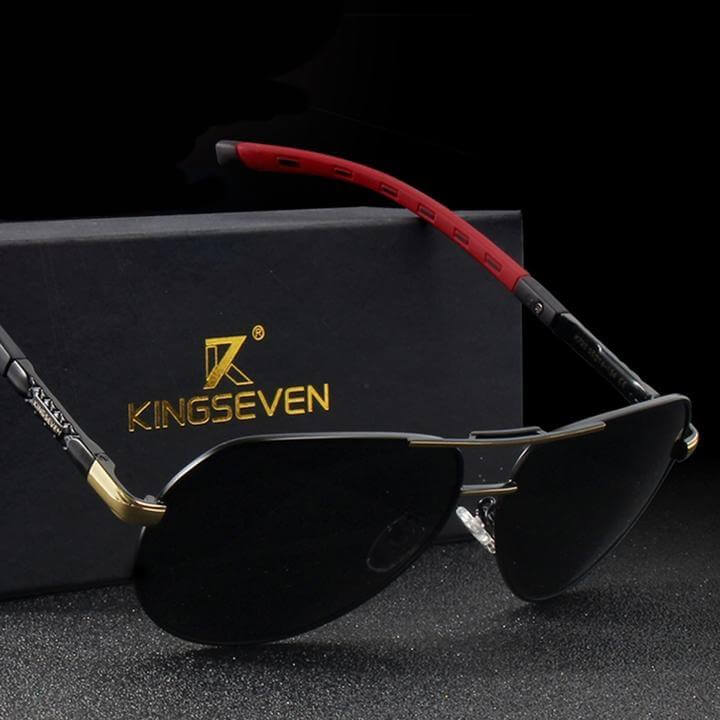 Premium Luxury Vintage Polarized Sunglasses - Steam Pumped
