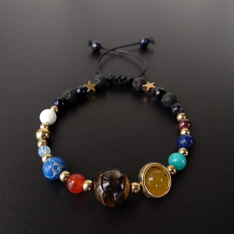 Fashion Galaxy Solar System Bracelet