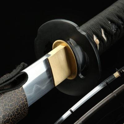 Toyotomi T10 Clay Tempered Folded Katana Samurai Sword
