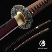 Full Tang 1045 Carbon Steel Katana Samurai Sword