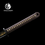 Black Bamboo Ninja Sword
