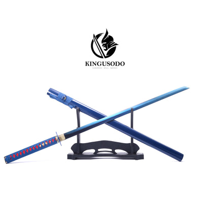 Blue Shadow 1095 Steel Ninja Sword