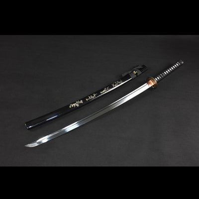 Katana Real 1060 Carbon Steel Blade, Japanese Style Sharp Ninja Samurai Sword