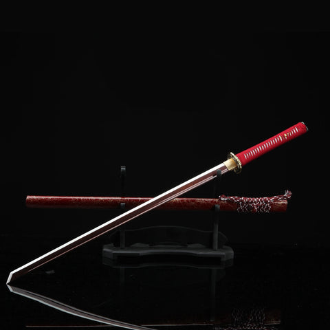 Replica Japanese Ninja Sword Red Blade