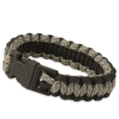 United Elite Forces Survival Bracelet Black Camo