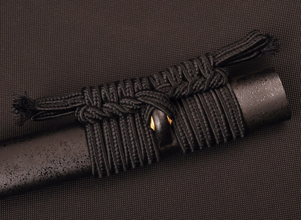 Murasaki Clay Tempered Folded Katana Samurai Sword