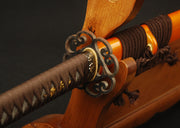 Namiko Clay Tempered Folded Katana Samurai Sword