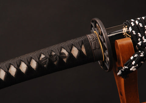 Leiko Clay Tempered Folded Katana Samurai Sword