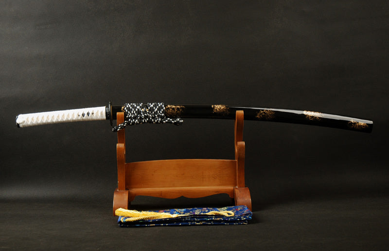 Komako Clay Tempered Folded Katana Samurai Sword
