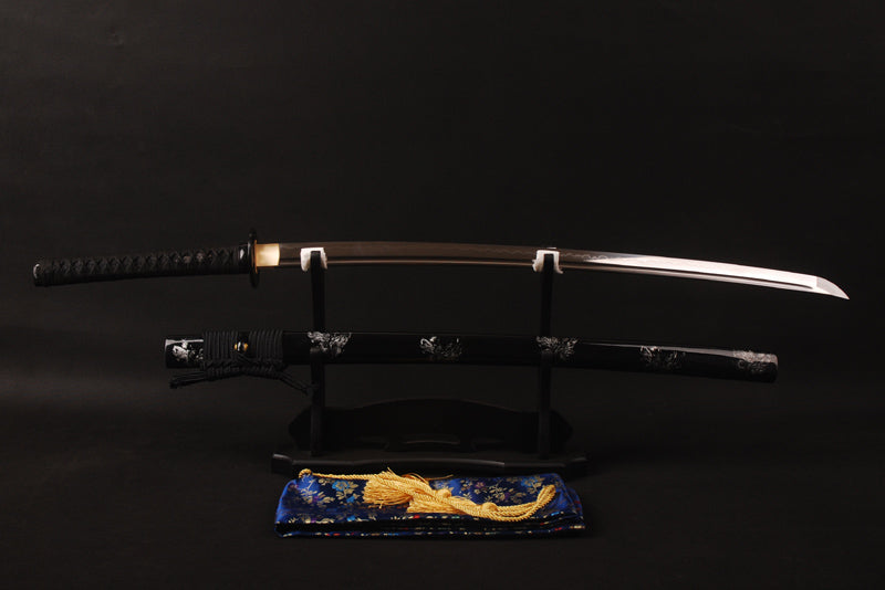 Koto Clay Tempered Folded Katana Samurai Sword