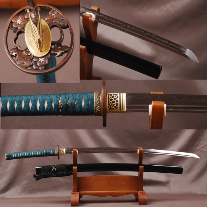 Masa Clay Tempered Folded Katana Samurai Sword