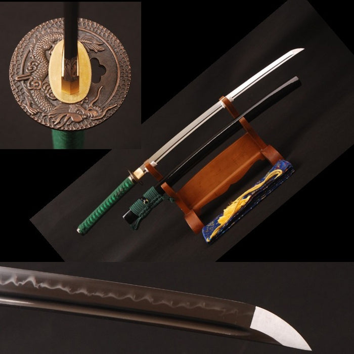 Kuni Clay Tempered Folded Katana Samurai Sword