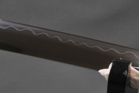 Mura Clay Tempered Folded Katana Samurai Sword