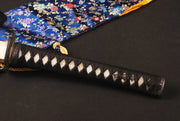 Mieko Clay Tempered Folded Katana Samurai Sword