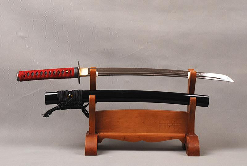 Dandan Clay Tempered Wakizashi Samurai Sword