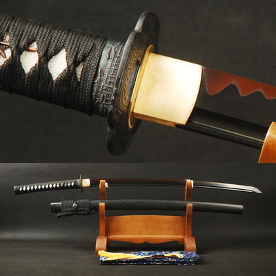 Matsuko Clay Tempered Folded Katana Samurai Sword