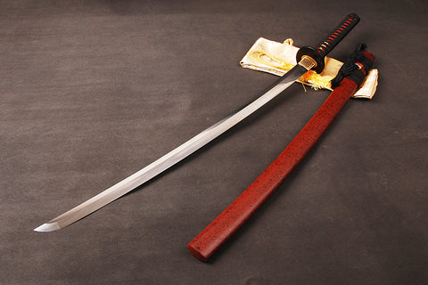 Nishi Clay Tempered Folded Katana Samurai Sword