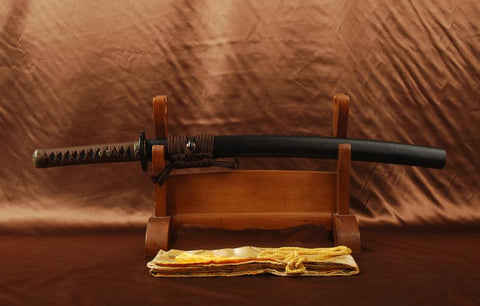 Chyou Clay Tempered Wakizashi Samurai Sword