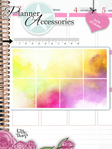 Watercolor Stickers 2597
