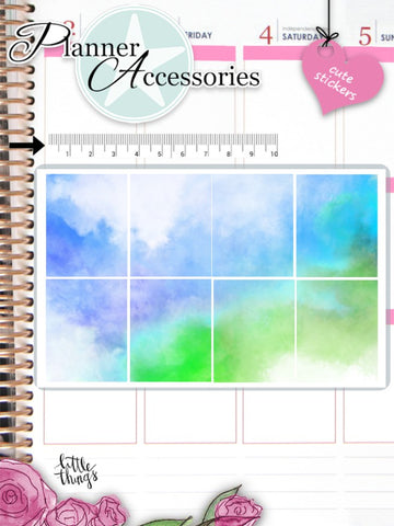 Watercolor Stickers 2598