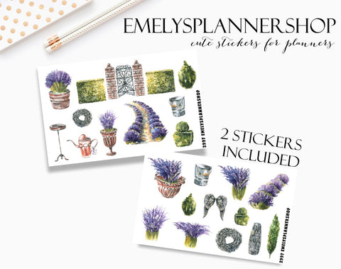 Summer Garden Sticker Set 2997