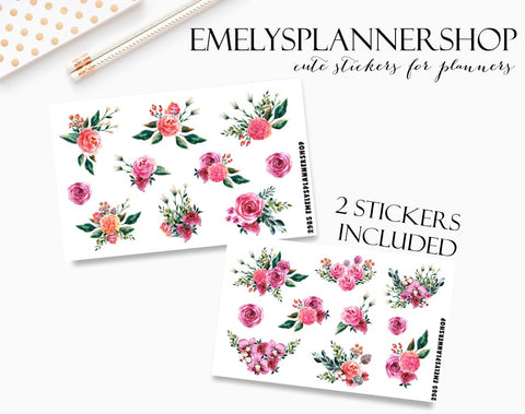 Flowers Sticker Pack 2985