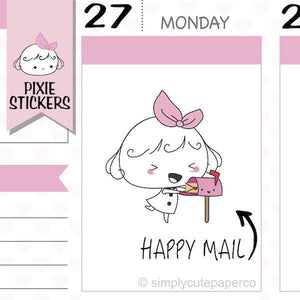 A034 | happy mail stickers TwinkleTheUnicorn