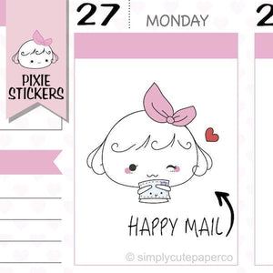 A035 | happy mail stickers TwinkleTheUnicorn