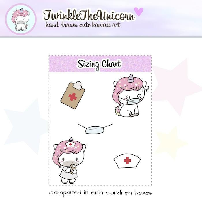 A045 | doctor stickers TwinkleTheUnicorn
