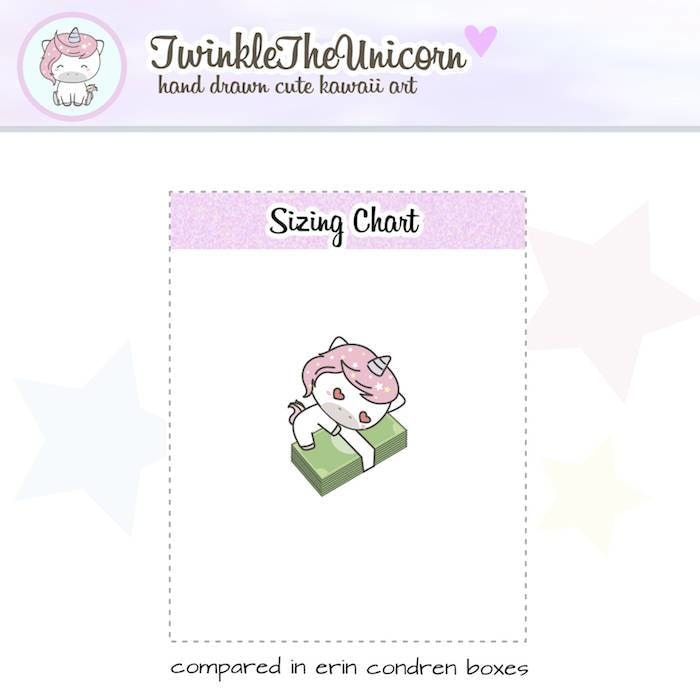 A096 | payday stickers TwinkleTheUnicorn