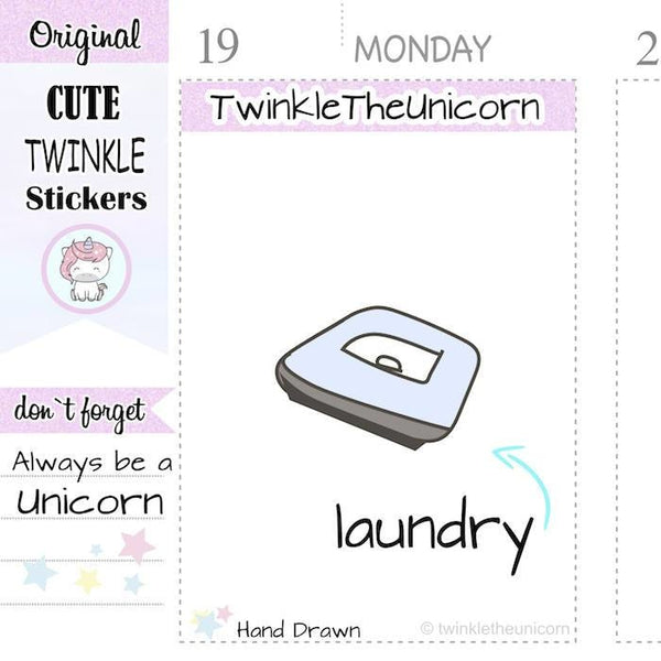 A106 | iron stickers TwinkleTheUnicorn